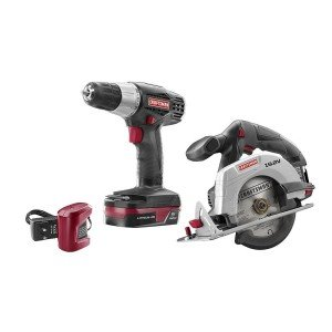 Craftsman C3 19.2-volt Lithium-ion Drill and Circular Saw 2-piece Combo Kit