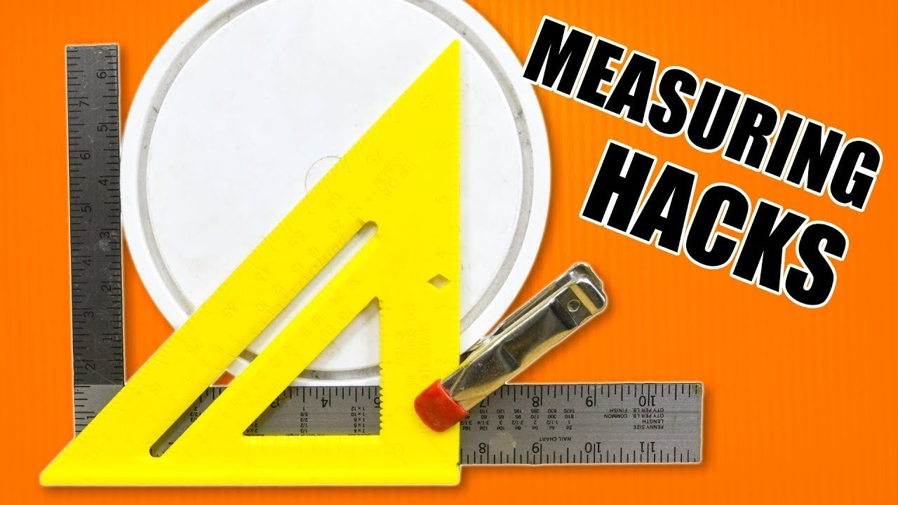 5 Quick Measuring Hacks - Tips and Tricks